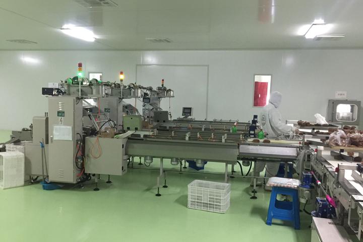 枣蛋糕生产线