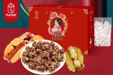 枣粮先生芝麻枣春节礼盒