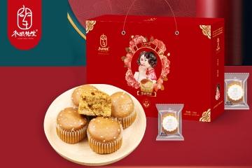 湖北枣粮先生蜂蜜红枣蛋糕春节礼盒
