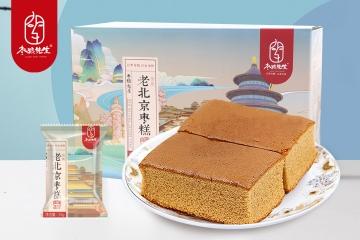 枣粮先生老北京枣糕面包红枣泥蛋糕营养早餐