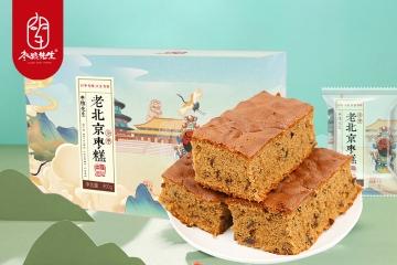 枣粮先生老北京枣糕面包红枣泥蛋糕